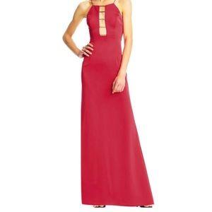 Aidan by Aidan Mattox Women Red Evening Dress